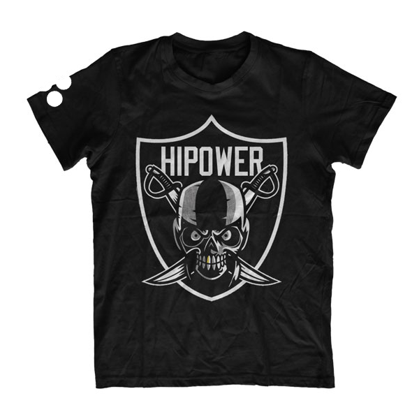 Image of HI POWER RAIDER T-SHIRT BLACK