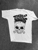 Image of ZOMBIESUCKERS - Black Skull T-Shirt