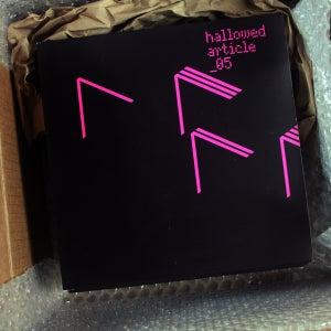 "Image of ha_05 - 7"" VINYL KARMELLOZ & C PLUS PLUS 'Metal Tape' and 'Wax Matrix'"