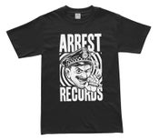 "Image of Arrest Records Shirt ""Cop"" $20 Plus Postage"