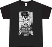 "Image of Arrest Records Shirt ""Skeleton"" $15 Plus Postage"