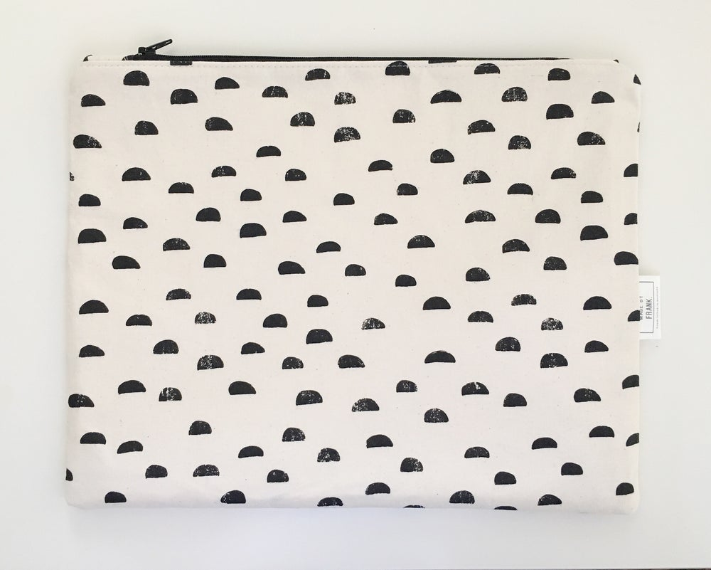 Image of Fabric Clutch Bag
