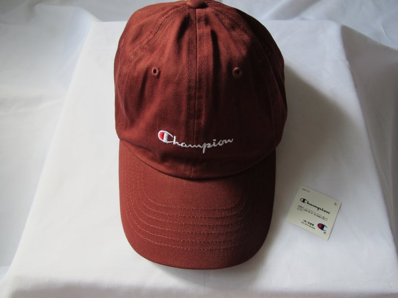 Image of Champion - Dad Hat (Red)