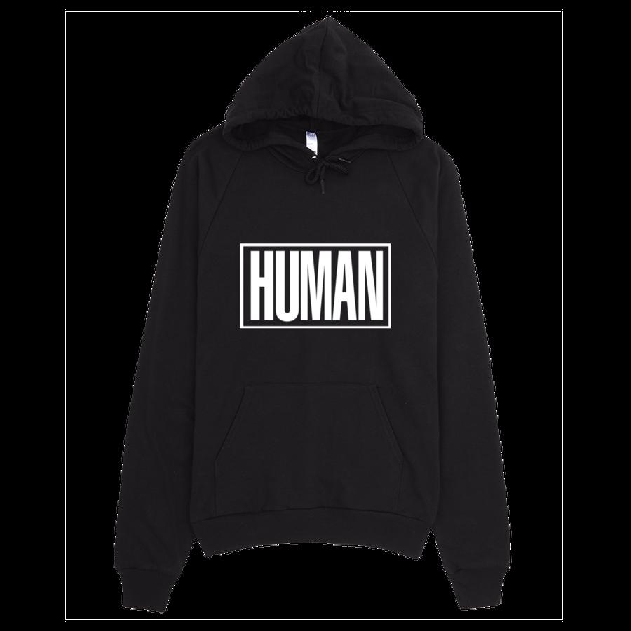 Image of HUMAN 2.0 - BLACK HOODIE