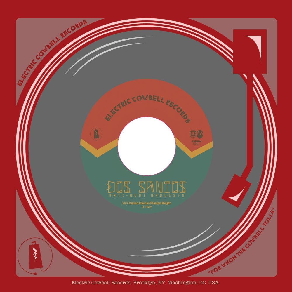 Image of Dos Santos Anti-Beat Orchestra 45RPM 7""