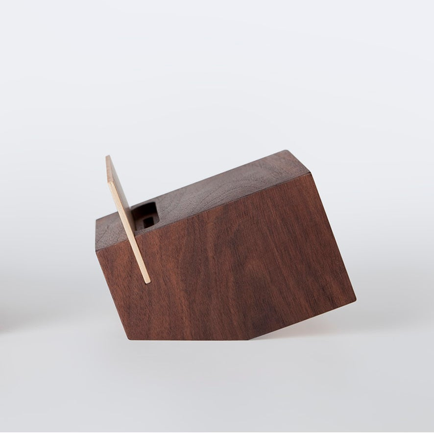 Image of BOX -walnut