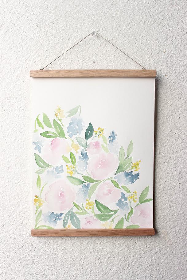 Image of ORIGINAL - floral study #7