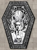 Image of Lovecraft Cthulhu Coffin Shaped B&W Magazine Issue