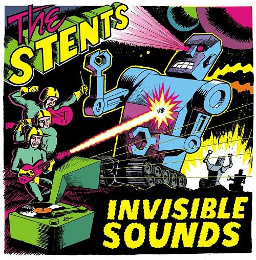 Image of The Stents - Invisible Sound (Lp)