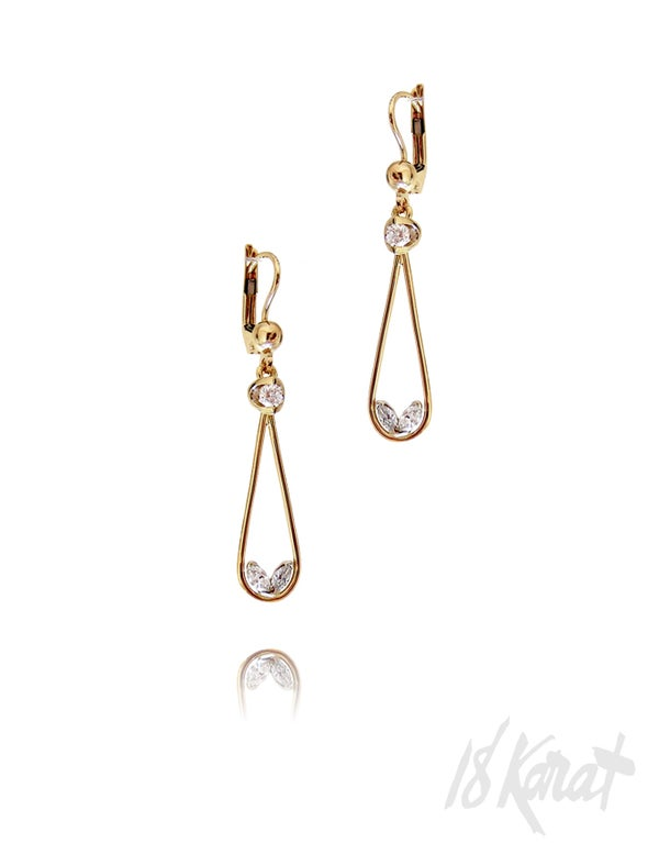 Adele's Drop Earrings - 18Karat Studio+Gallery