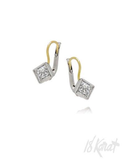 Pam's Diamond Earrings - 18Karat Studio+Gallery