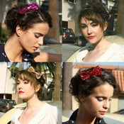 Image of Bows & Spangles Headband (available in 5 colours)