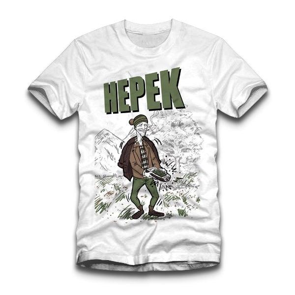 Image of Hepek T-shirt white