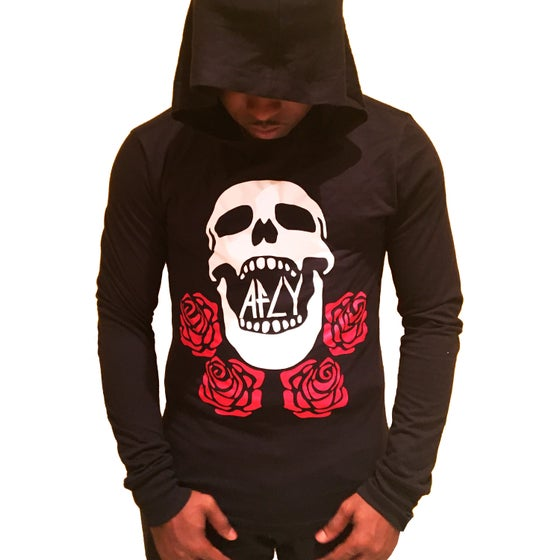 Image of SKULLS AND ROSES HOODIE