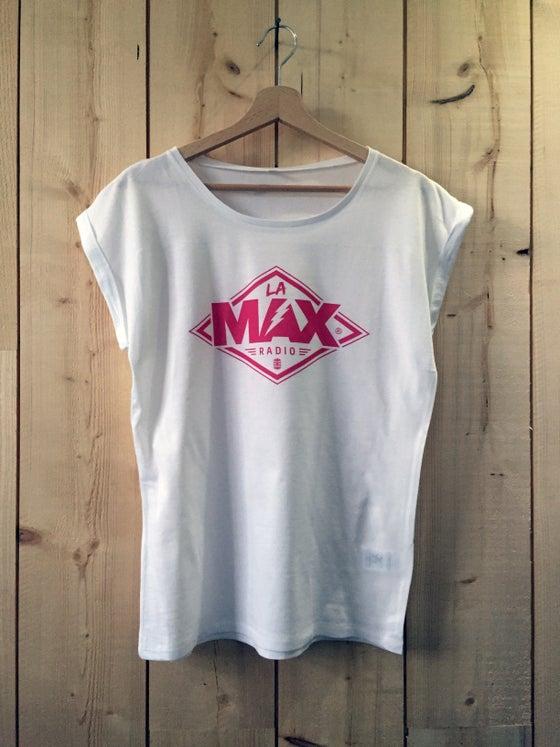 Image of T-shirt FEMME Blanc - La MAX Radio