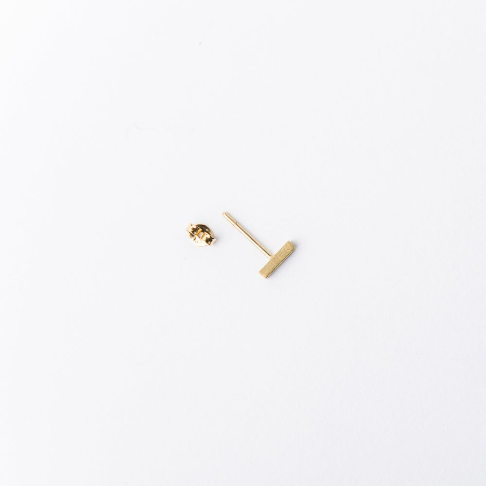 Detalle de Minanaro single small stick earring