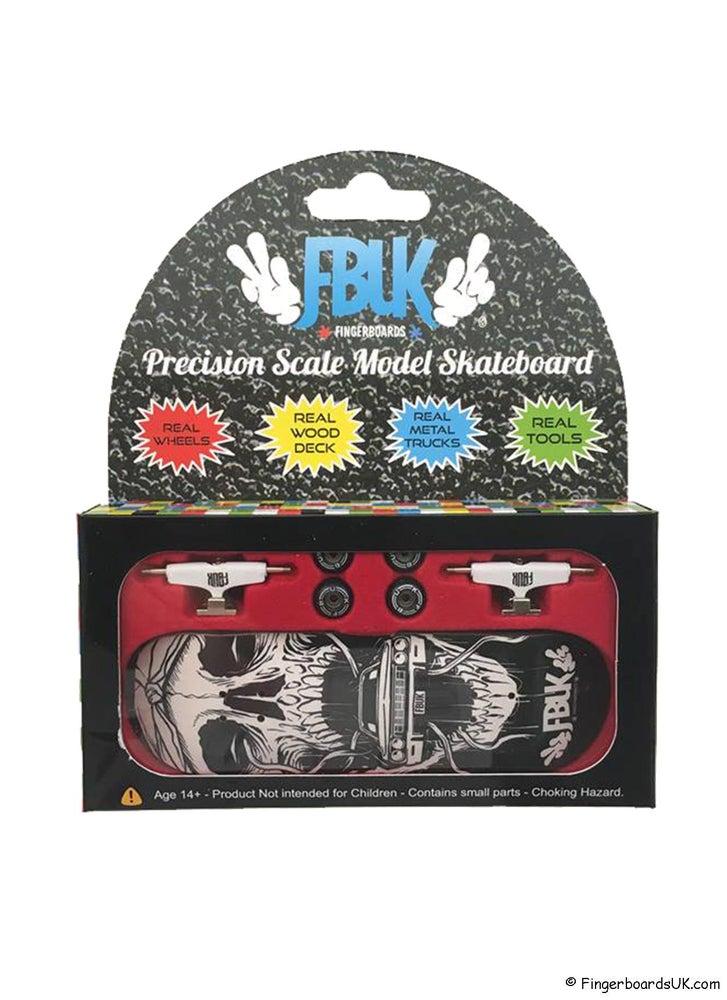 Image of FBUK Pro Graphic Fingerboard Setup - Skull Rider