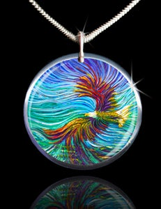 Image of Spirit Eagle Energy Pendant