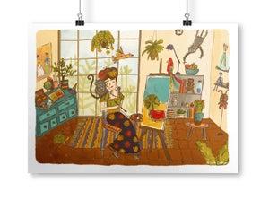 Image of Frida's Studio