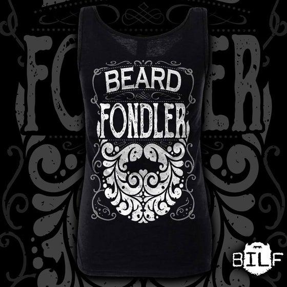 """Image of Ladies Black """"Beard Fondler"""" Vest"""