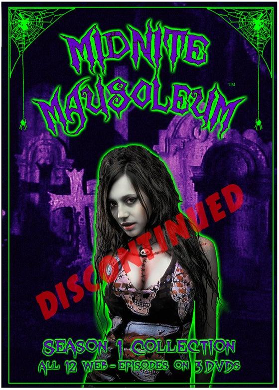 Image of Midnite Mausoleum- DVD Set Season 1 DISCONTINUED