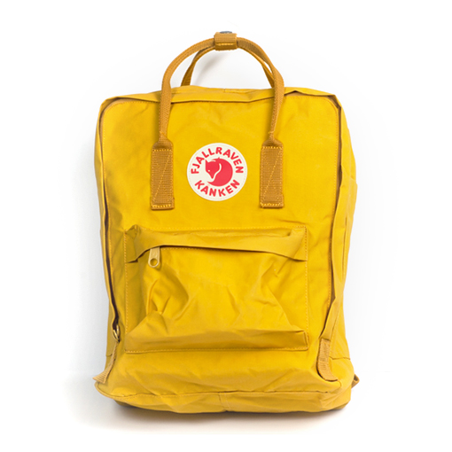 Image of Fjallraven Kanken - Yellow