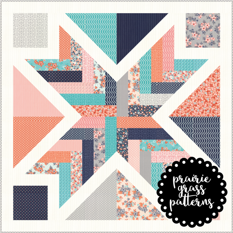 Image of #142 Starburst Quilt Pattern {PAPER}