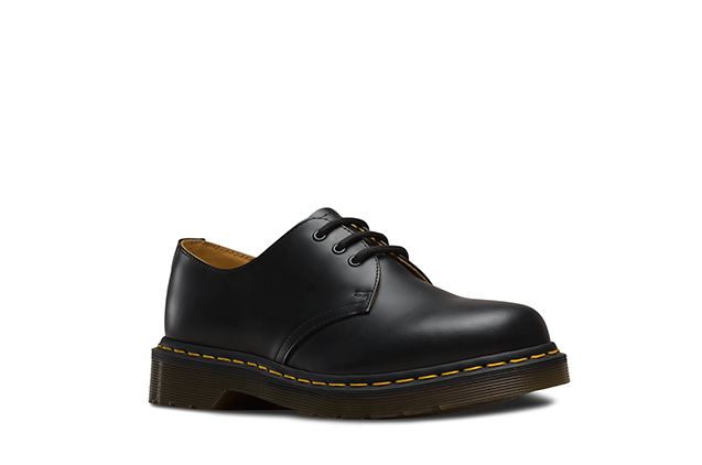 Image of Doc Martens - 1461 Black Smooth