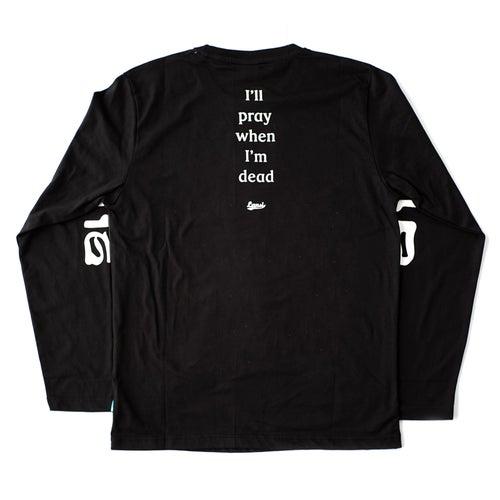 "Image of LANSI ""Faith"" L/S T-shirt (Black)"