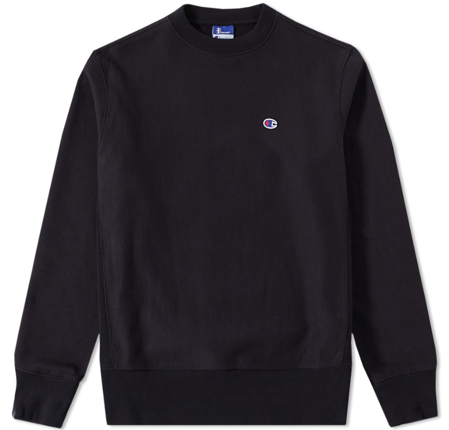 Image of Champion Reverse - Crewneck Black