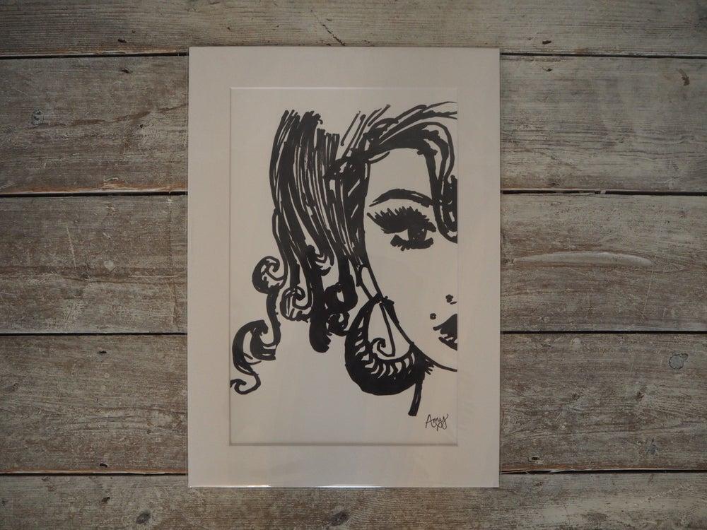 Image of Amy Self-Portrait Print