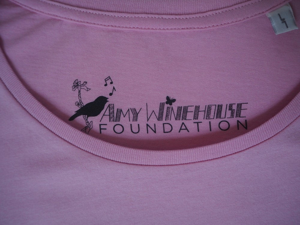 Image of Amy Self-Portrait Pink T-Shirt