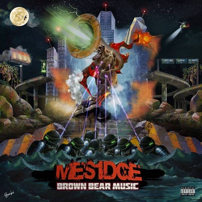 "Image of Mesidge ""Brown Bear Music"" CD w/ Free Stickers"