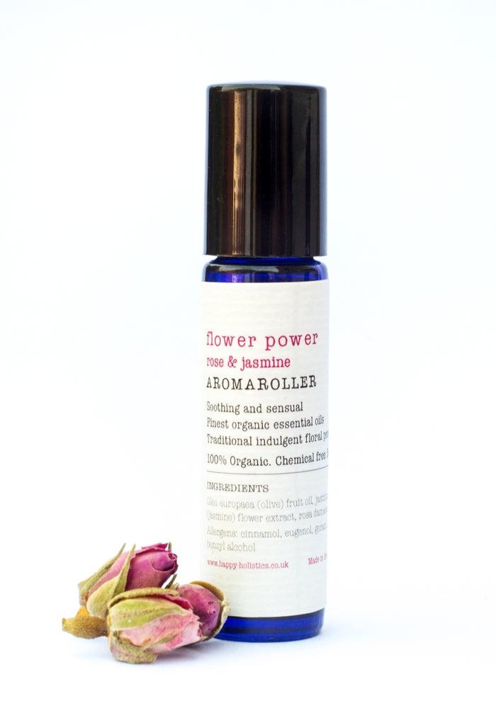 Image of Aromaroller - Organic pulse point Aromatherapy oils - Soil Association certified