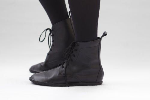Image of Lace up boots - Foris in Black