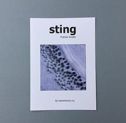 Image of STING  #fransk knude, pdf vejledning