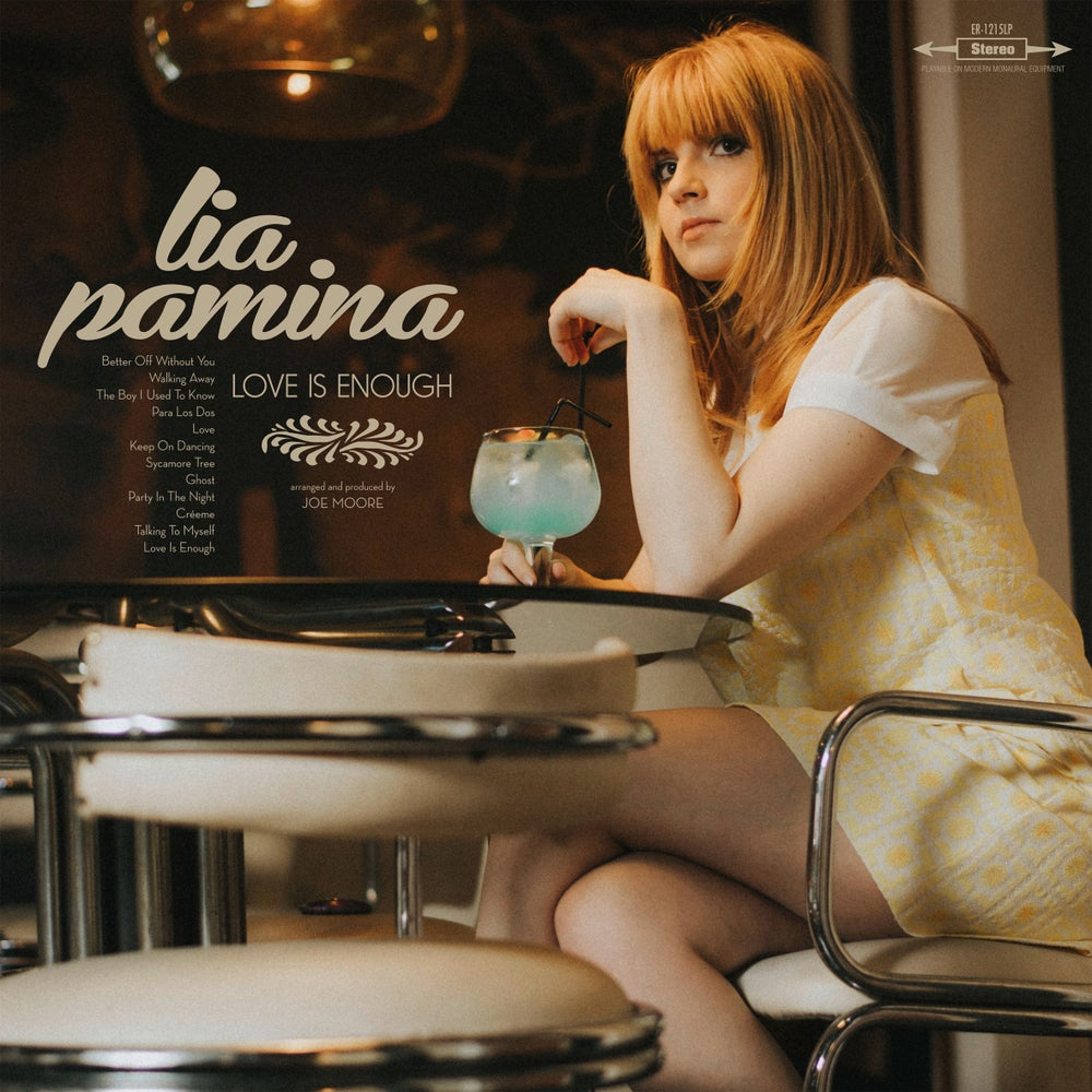 """Image of LIA PAMINA Love Is Enough (Limited edition 12"""" vinyl / CD)"""