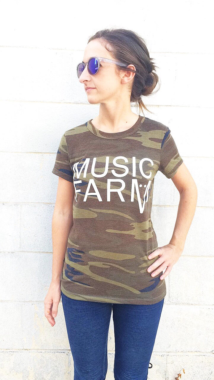 Image of *LIMITED TIME* Music Farm Camo Shirt
