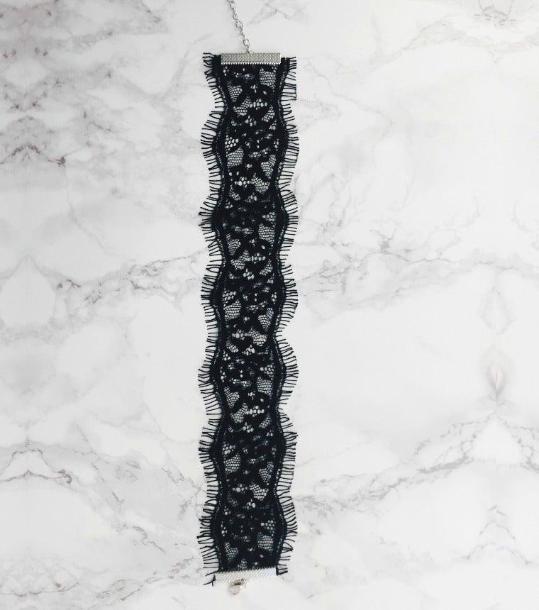 Image of Black Lace Choker
