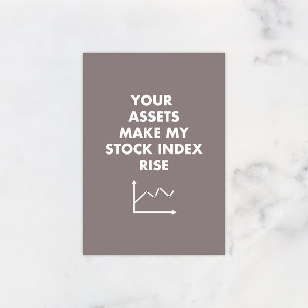 Image of Rising stock index