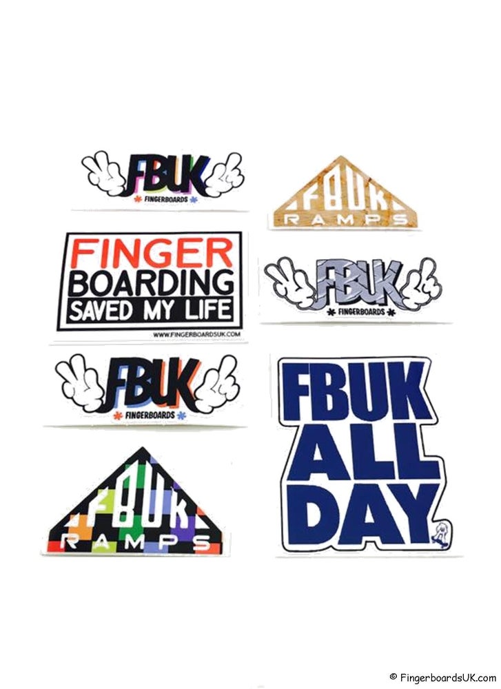 Image of FBUK Die-Cut Sticker Pack
