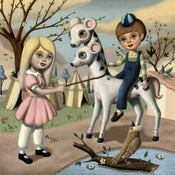 Image of SOLD Victorville Carnival Giclee Print