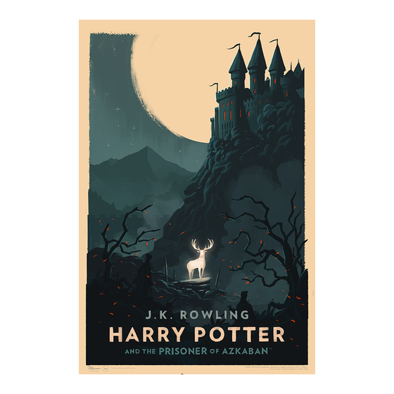 Image of Harry Potter and the Prisoner of Azkaban Art Print