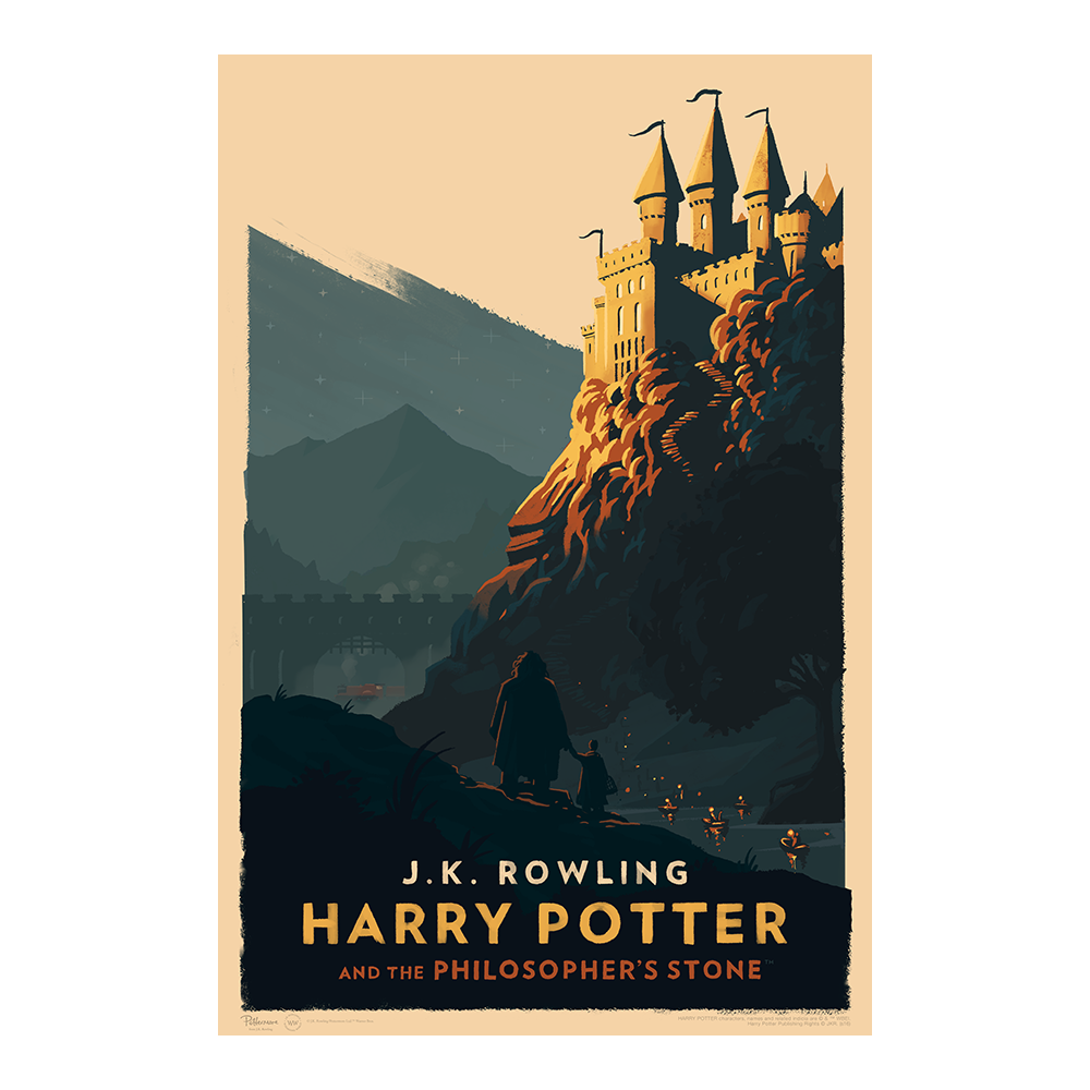 Image of Harry Potter and the Philosopher's Stone Art Print