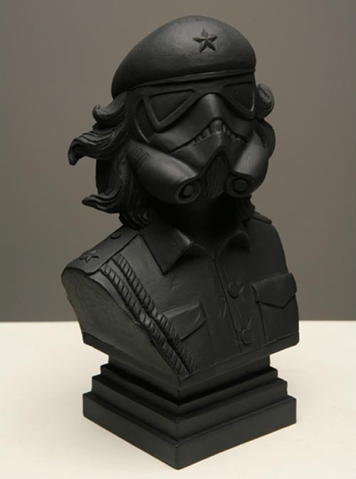 Image of CheTrooper 6-Inch Bust (Black)