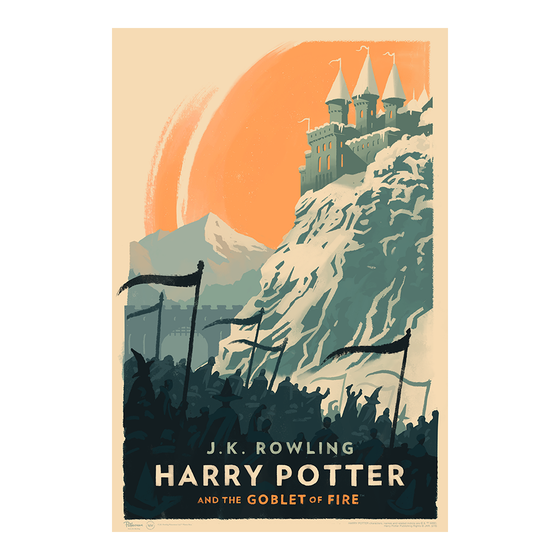 Image of Harry Potter and the Goblet of Fire Art Print