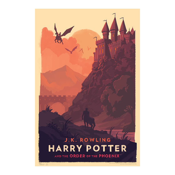 Image of Harry Potter and the Order of the Phoenix Art Print