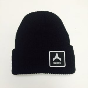 Image of Mantis Beanie Salary Cap patch black