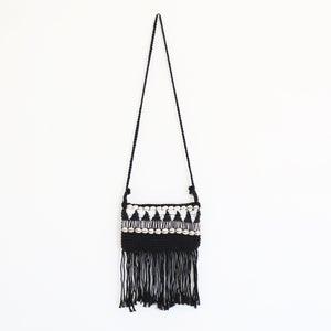 Image of Tribal Black Macrame Bag