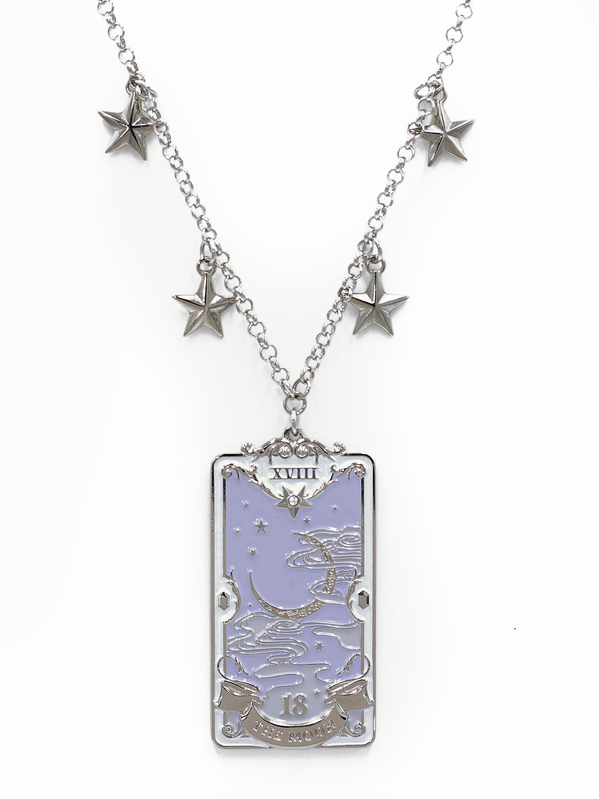 Image of The Moon Necklace · Lavender